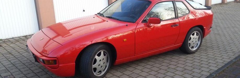 Porsche 924S  EZ 09/88 Cover Image